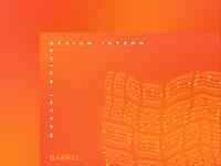 Design Internship @ Barrel