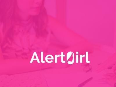 Alert Girl (Feminine) Logo Design