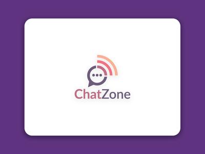 Chat Zone (Mobile App) Logo