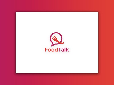 Food Talk (Mobile App) Logo