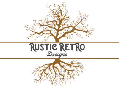 Rustic Retro Tree Logo