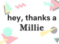Thanks a Millie