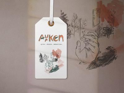 Awaken | Gender Neutral Store Concept label design apparel logo logo brand procreate graphic design apparel design label paper illustration drawing design