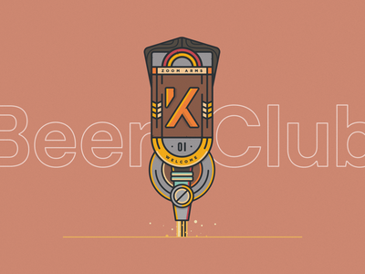 Beer Club visual designs vector beer colourpalette brand