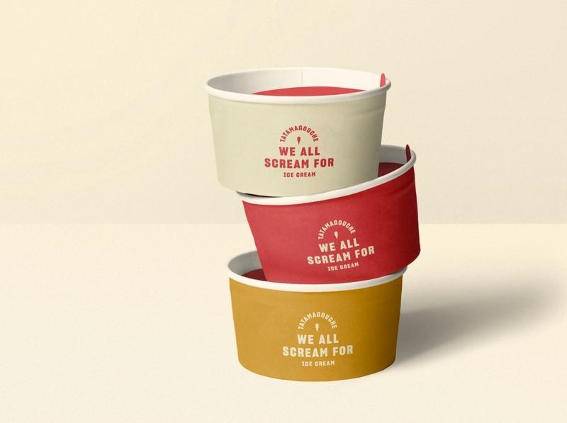 Tatamagouche Ice Creamery ice cream logo branding