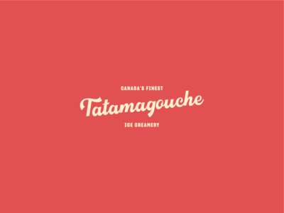 Tatamagouche Ice Creamery ice cream illustration logo branding