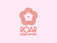 Roar Music Festival Branding