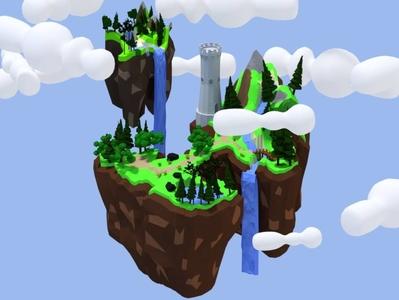 floating islands vince