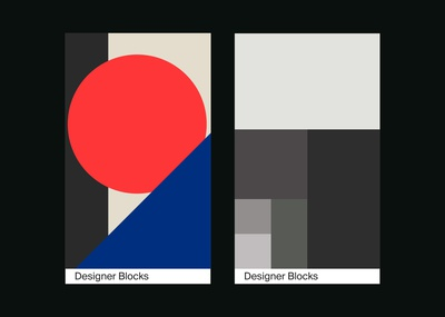 Designer Blocks - Cards