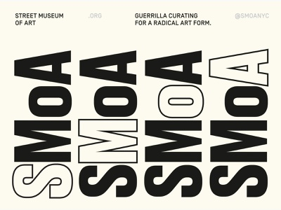 MuseumPostercard.001—Street Museum of Art grid graphic clean minimal design layout graphic design type typography print