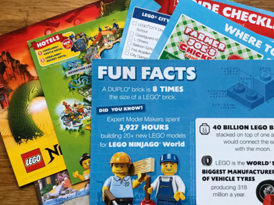 Print project for Legoland UK