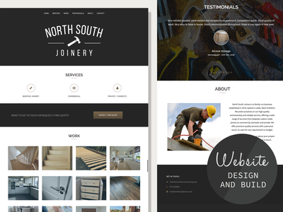 Website design, build, branding and logo creation