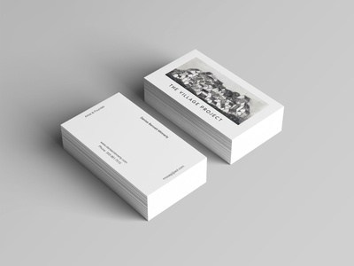 TVP Business Card Mockup