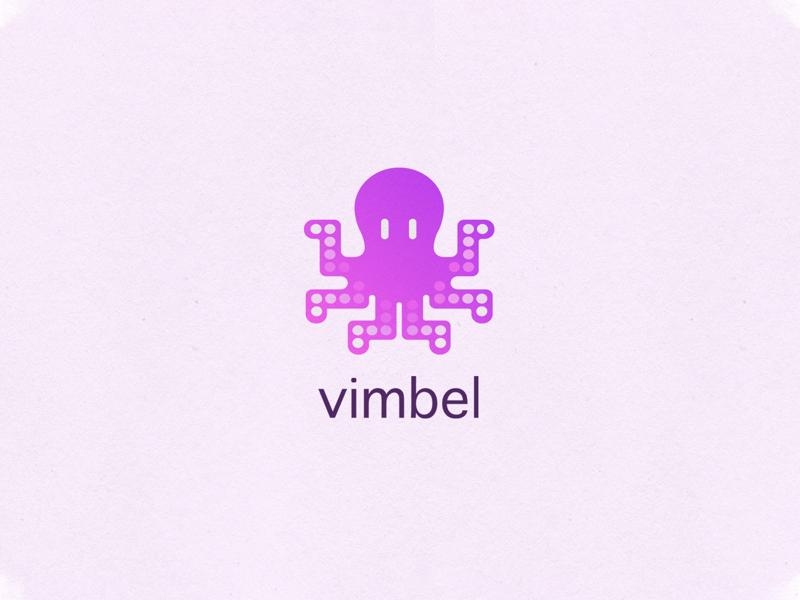 Vimbel Logo app design logo design illustration graphic design