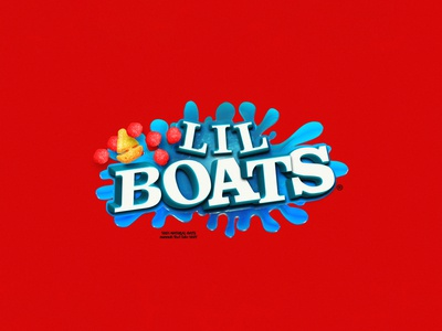 Lil Boats Cereal Logo Design