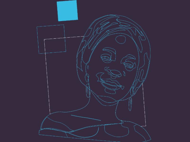 Lucy graphic design digital art illustration