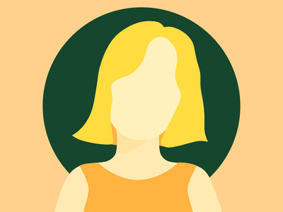 self portrait yellows self portrait portrait people flat illustration colorful yellow illustrator illustration fun simple design