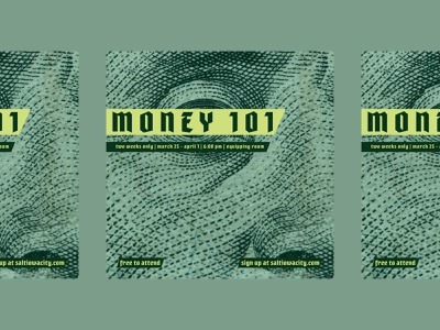 Money 101: Visual Identity visual identity illustrator fun simple christian design design social post money 101 dollar christian money green social media