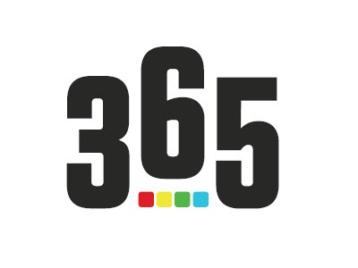 365 Entertainment Portal logo branding identity 365 portal internet entertainment