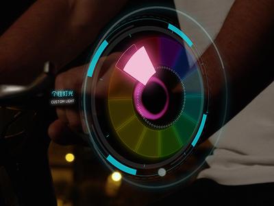 Future UI for a vedio