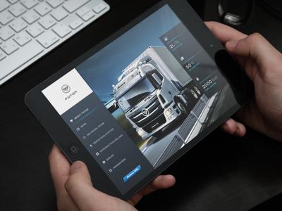 Truck App UI