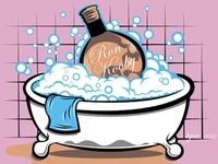 Cognac Bubble Bath