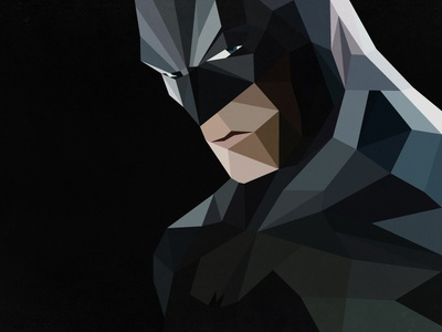 Batman Cubism