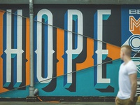 Type Mural - Tegler Youth Centre