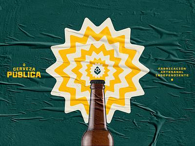Public Beer / Branding branding beer branding mexico cerveza beer