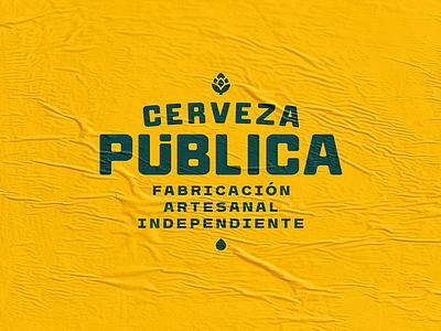 Public Beer / Branding branding logo beer cerveza