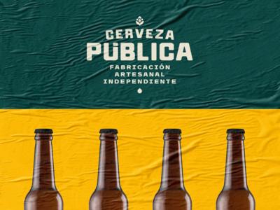 Public Beer / Branding
