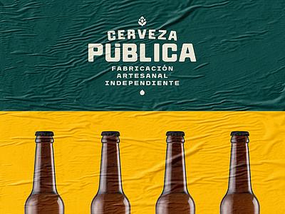 Public Beer / Branding branding beer cerveza