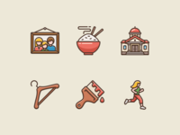 Icons for Language Learning app