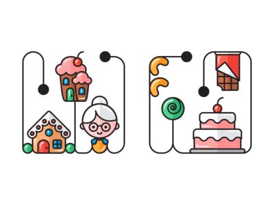 Product Icons electronics food and drink chocolate musical instruments cake nuts sweets home made fitness illustrator contour vector icon