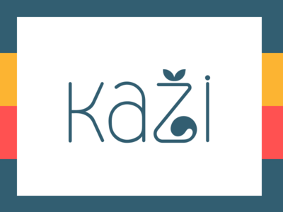 Kazi Logo reutskiy wear cat logo logotype