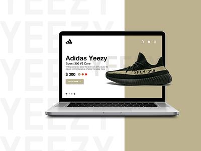 Adidas Ecommerce Design webdesign ecommerce shop adidas branding website minimal web app ui design ecommerce design landing page ecommerce