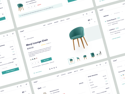 E-Commerce Website | Furniture store ecommerce product branding typography furniture architecture decoration interior shoping uxdesign shopify product page landing page shop shopping cart furniture store chair ui ux