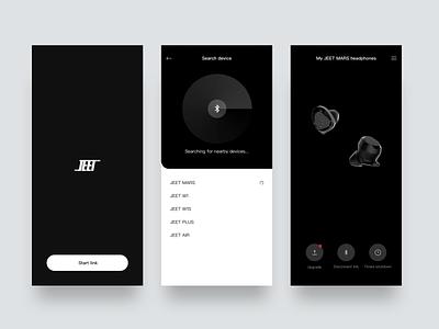 Bluetooth Headset animation search bluetooth earphone app bluetooth