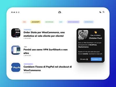 minimamente  v.2020 design minimamente clean portfolio personal wordpress wp web design blog website web