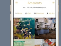 Amaranto Mobile Perfection Wp Theme for Woocommerce