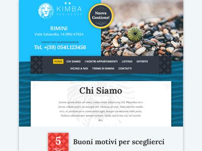 Residence Hotel Kimba menu web hotel residence