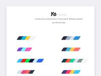 Yopalette Web Palette Inspiration
