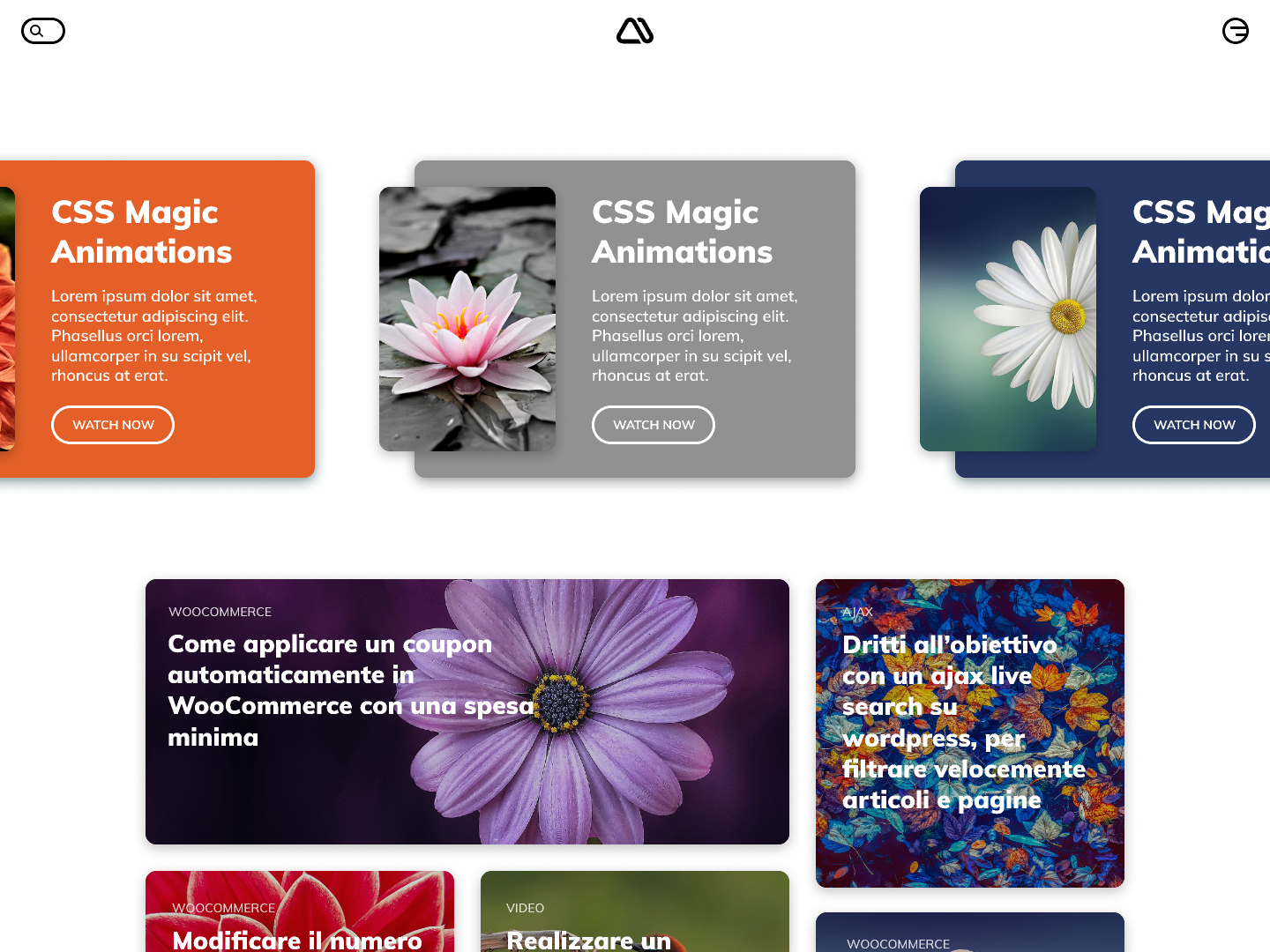 My Blog redesign by christian pucci   Dribbble   Dribbble