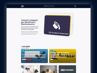minimamente Vr. 2019 gradient wp ui css figma carousel minimamente flat css3 clean design blog wordpress web