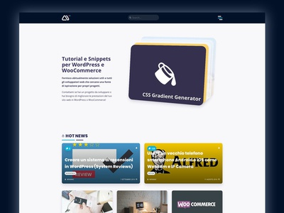 minimamente Vr. 2019 gradient wp ui css figma carousel minimamente flat css3 clean design blog wordpress web
