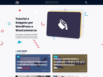 minimamente design carousel slider ui web design blog design wordpress wp blog minimal