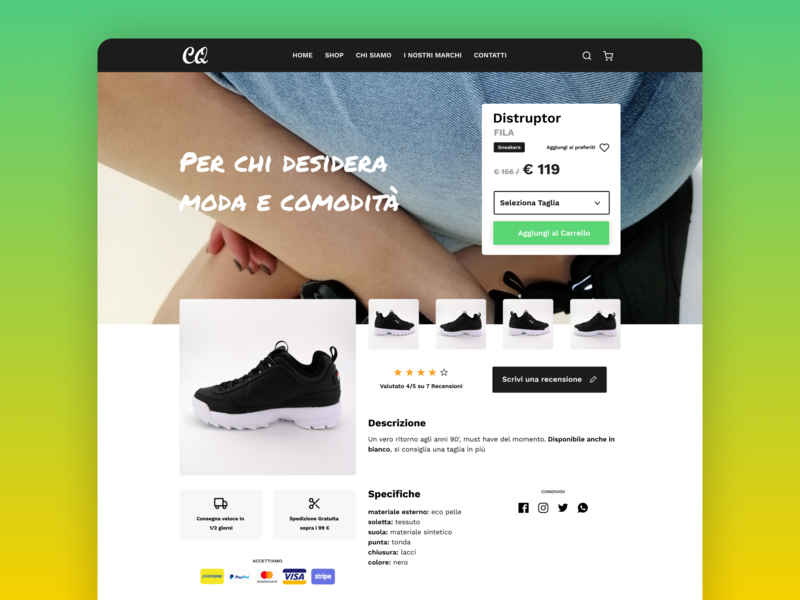 66b4f955d6795 E-Commerce Shop Shoes by christian pucci on Dribbble
