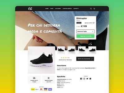 E-Commerce Shop Shoes product engage vector clean web design figma web e-commerce store shop ui woocomerce wordpress shoes shoe