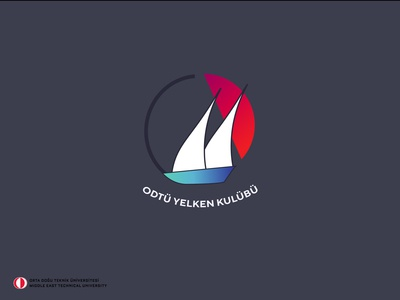 METU Sailing Club Concept Logo Design