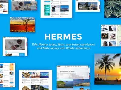 Hermes - WordPress Theme For Travel Bug solo travel best wordpress travel theme for travel traveller travel bug travelling personal wordpress travel travel wordpress